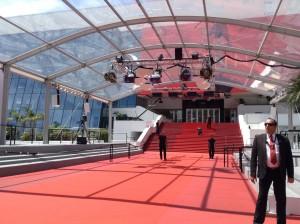 et hop, un nouveau tapis rouge pour la nouvelle journée qui commence...