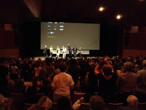 Standing ovation pour NOTHINGWOOD !