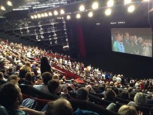 Palais du Festival : salle comble pour RODIN