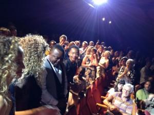 Standing ovation pour l'équipe du film