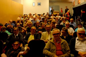 2013 - Première séance 3D à St-Julien : à la rencontre de Méliès avec Hugo Cabret, dans le cadre d'un week-end Patrimoine et Cinéma
